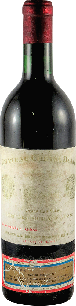 Chateau Cheval Blanc Bordeaux - Saint Emilion 1969