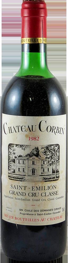 Chateau Corbin Bordeaux - Saint Emilion 1982