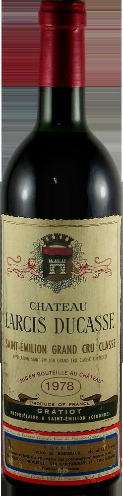 Chateau Larcis Ducasse Bordeaux - Saint Emilion 1978