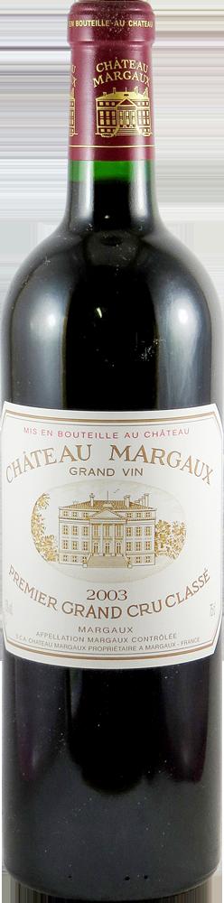 Chateau Margaux Bordeaux - Margaux 2003