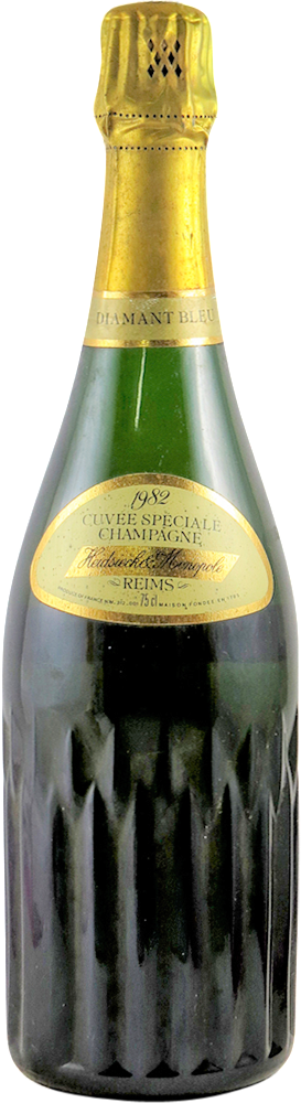 Heidseick & Monopole - Cuvee Speciale - Diamant Bleu Champagne 1982