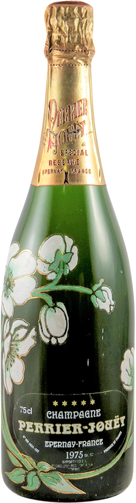 Perrier - Jouet - Special Reserve - Belle Epoque Champagne 1975