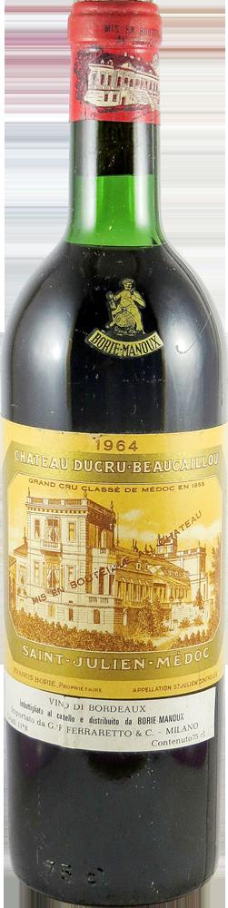 Chateau Ducru Beaucaillon Bordeaux - Saint Julien 1964