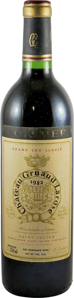 Chateau Gruaud Larose Bordeaux - Saint Julien 1982