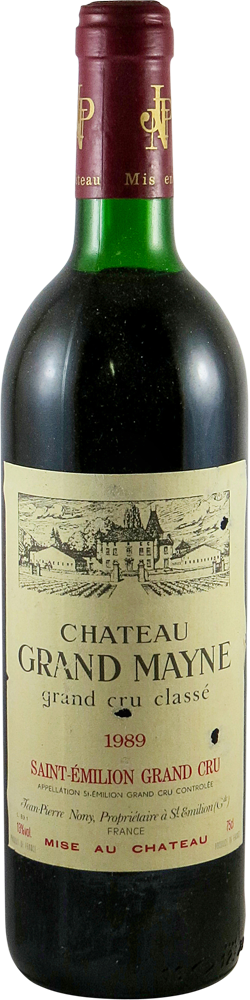 Chateau Grand Mayne Bordeaux - Saint-Emilion 1989