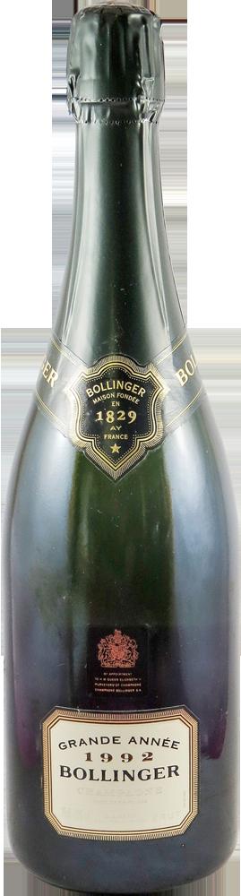 Bollinger - Grand Annee Champagne 1992