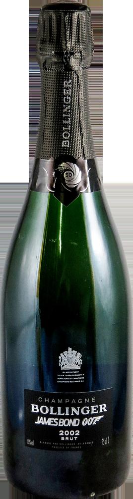 Bollinger - James Bond 007 Champagne 2002