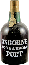 Osborne - bottled in 1973 - 20 years old Porto 1953