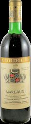 Cordier Bordeaux - Margaux 1970