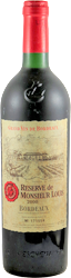 Eschenauer - Reserve de Monsieur Louis Bordeaux 2000