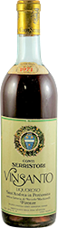 Conti Serristori - Machiavelli Vin Santo 1971