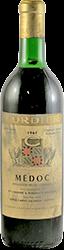 Cordier Bordeaux - Medoc 1961