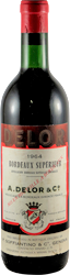 Delor Bordeaux 1964