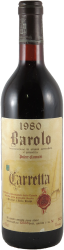 Carretta - Cannubbi Barolo 1980