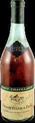 Haut Chatelard - Geisweiler Bourgogne 1933