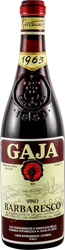 Gaja Barbaresco 1965