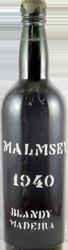 Blandy's – Malmsey Madeira 1940